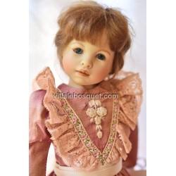 HEIDI PLUSCZOK POUPEE FLORENCE - poupée de l'artiste Heidi Plusczok