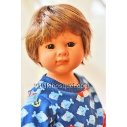 POUPEE MÜLLER WICHTEL ELOUAN - poupée de collection de Rosemarie Müller