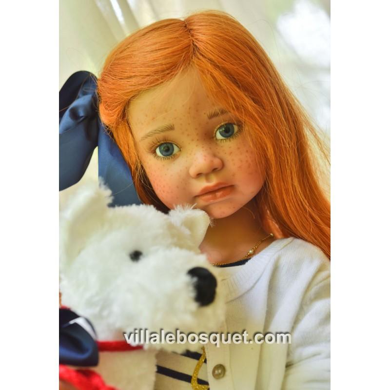 ANGELA SUTTER POUPEE IRINA - poupée d'artiste unique d'Angela Sutter