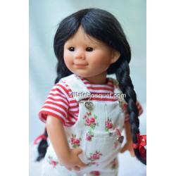 POUPEE MÜLLER WICHTEL LOTTE - poupée de collection de Rosemarie Müller