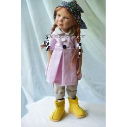 ZWERGNASE POUPEE KEKE - poupée d'artiste Zwergnase