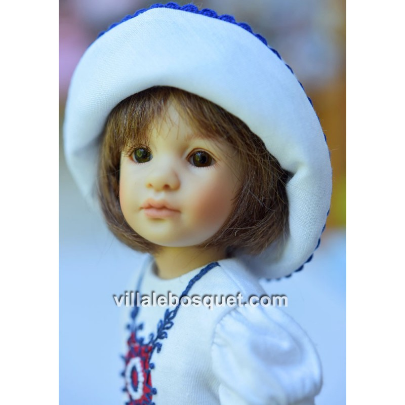 HEIDI PLUSCZOK POUPEE LIVIA - poupée de l'artiste Heidi Plusczok