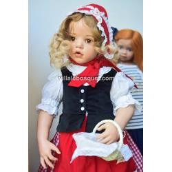 HILDEGARD GÜNZEL CHAPERON ROUGE- poupée en résine de Hildegard Günzel 2017