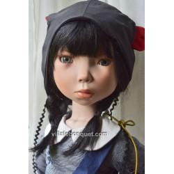 ZWERGNASE POUPEE AYMELINE 1 - poupée d'artiste Zwergnase