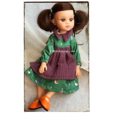 Las Amigas articulées, poupées à jouer et à collectionner par Paola Reina, fabriquées en Espagne!