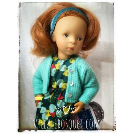 Les Minouches de Sylvia Natterer sont des belles poupées à jouer pour Petitcollin.