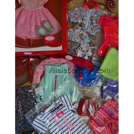 Vêtements de poupées de marques différentes pour les poupées Zwergnase.