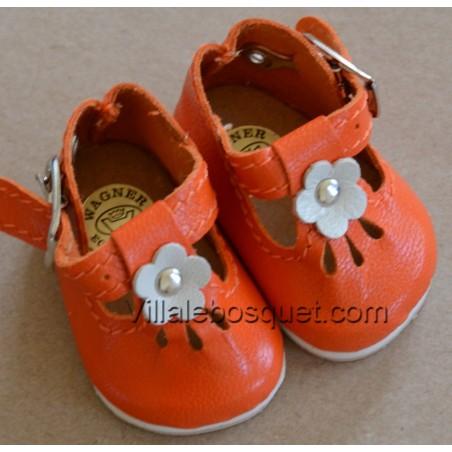 Belles chaussures de qualité pour les poupées Müller Wichtel.