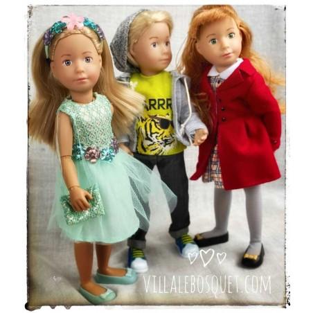 BJDolls Kruselings, poupées articulées de 22 cm, créatrice Sonja Hartmann pour Käthe Kruse. Poupées à jouer et à collectionner.
