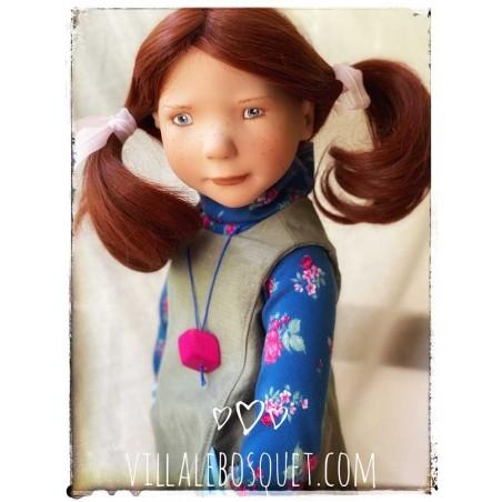 Les belles poupées à jouer et à collectionner de Zwergnase (les Juniordolls), poupées de qualité, fabriquées en Allemagne.