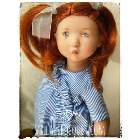 Les belles poupées à jouer et à collectionner de Zwergnase (les Juniordolls), poupées de qualité.