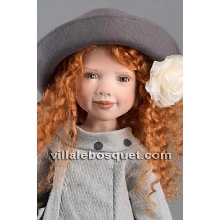 Zwergnase poupées de collection 2019, création de l'artiste Nicole Marschollek pour Zwergnase.