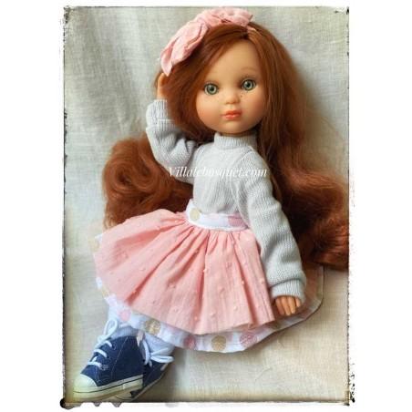 Les poupées de la maison Espagnole Berjuan sont très originales et drôles, colorées et habillées avec beaucoup de goût.