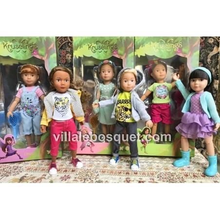 Les belles petites poupées articulées des Kruselings