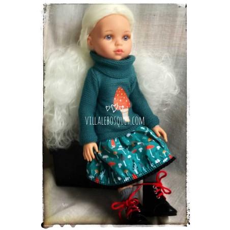 Les belles poupées Les Amigas Articulées de Paola Reina à la Villalebosquet.com