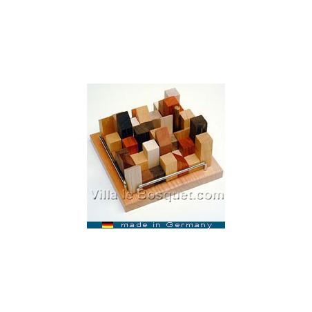 Casse-têtes amusants, faciles ou difficiles, très beaux objets en bois ou métal.