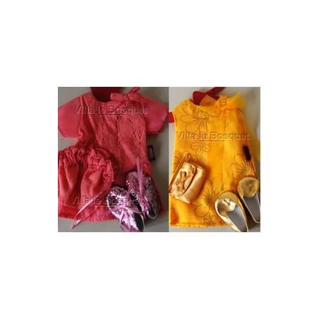 Vêtements et habillements pour poupées de la marque Allemande Götz!