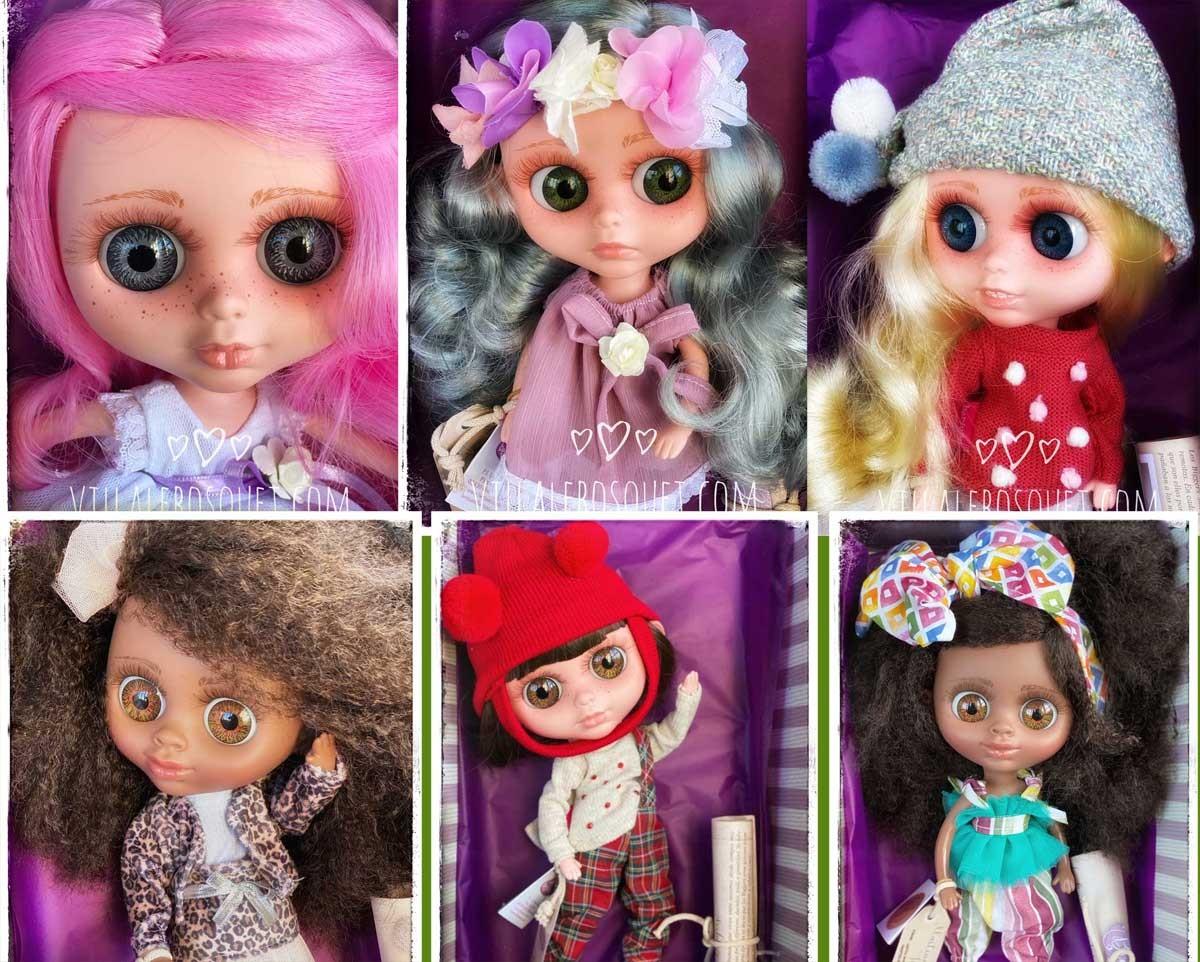 Les poupées The Biggers et My Girl de la maison Espagnole Berjuan!