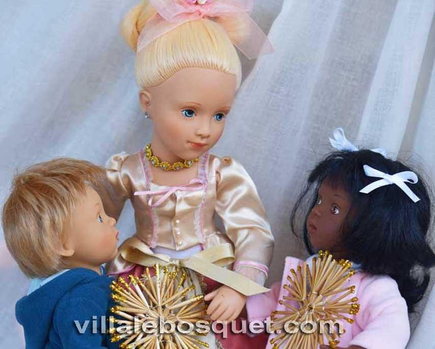 Les belles poupées de Sylvia Natterer par Petitcollin!