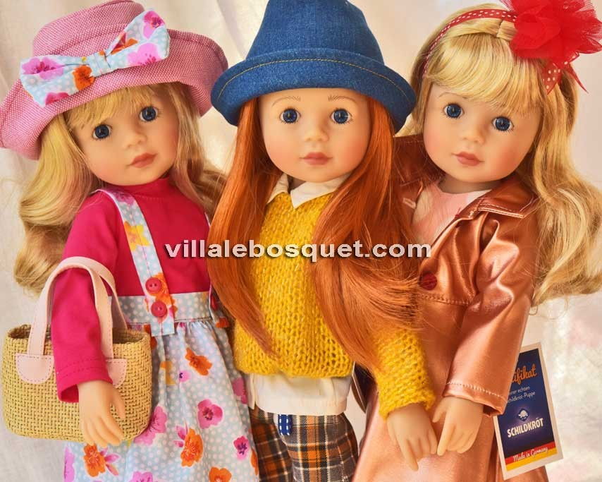 Schildkröt, poupées et poupons à jouer de qualité par la grand maison de tradition Allemande!