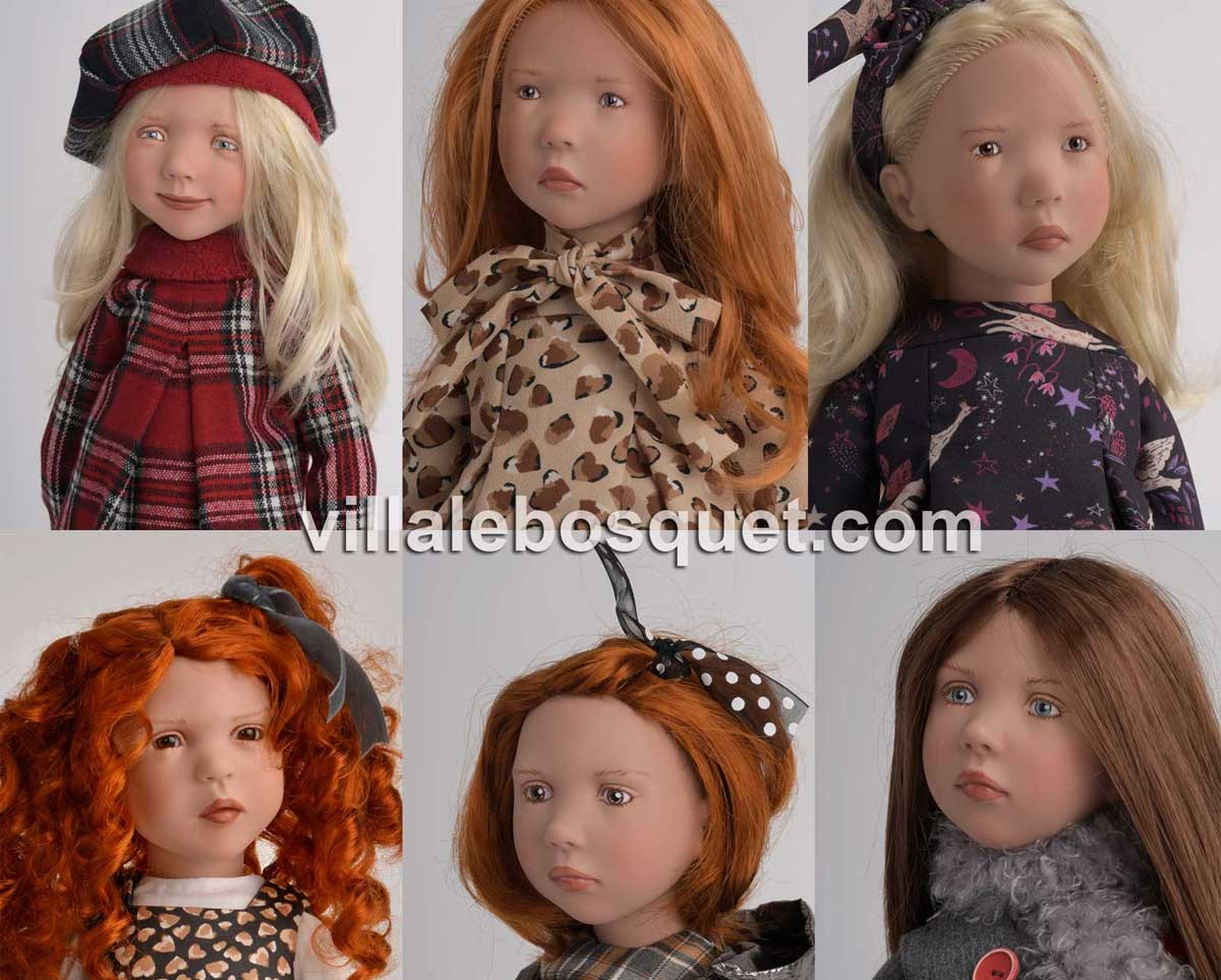 La nouvelle collection des poupées Juniordolls de Zwergnase 2020 est sur notre site!