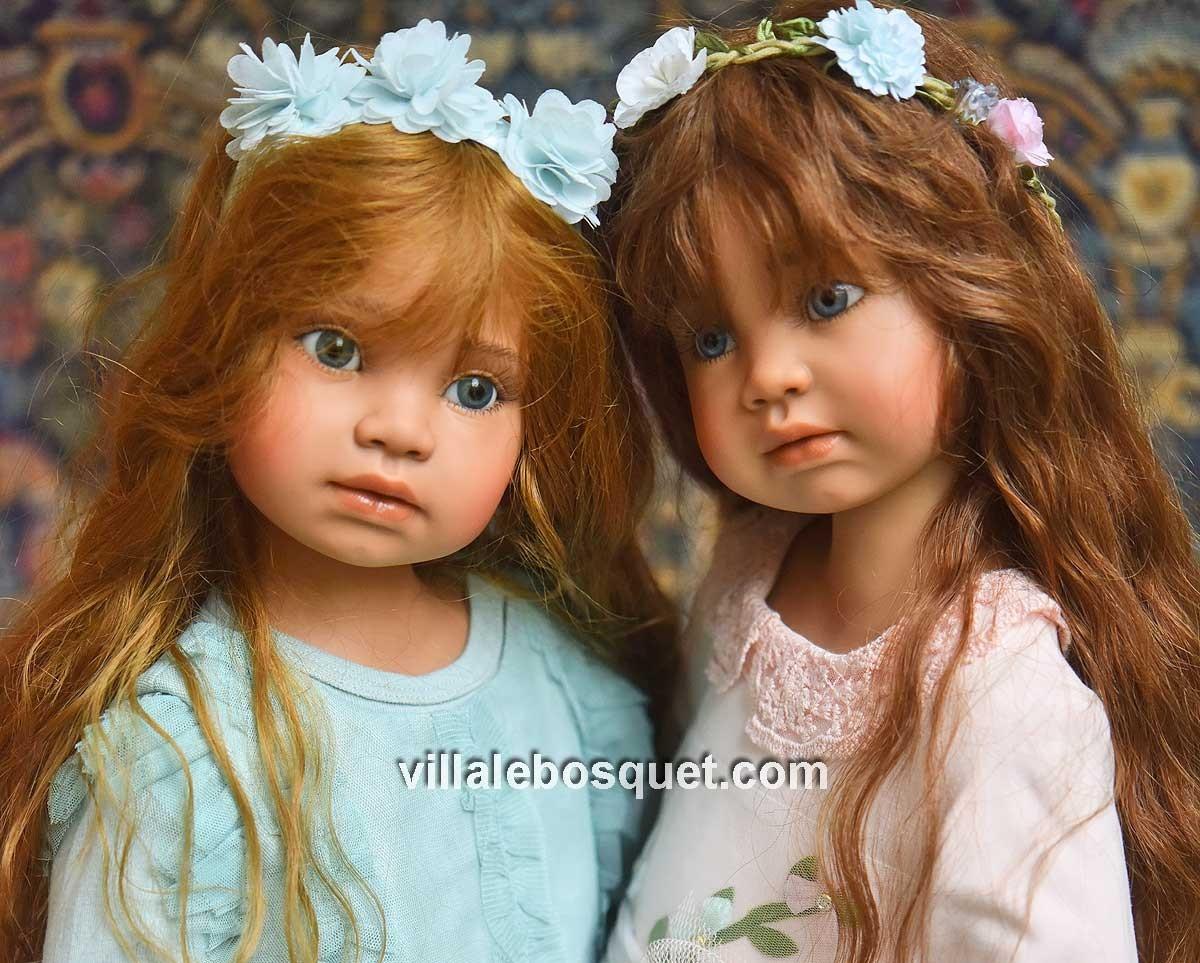 Les superbes poupées d'Angela Sutter sont sur notre site!