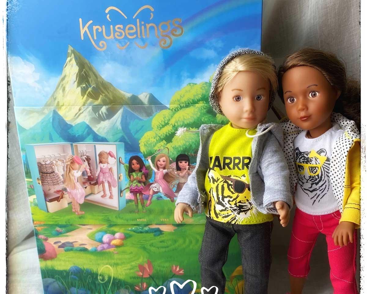 Les Kruselings, gentilles petites fées qui nous veulent du bien! Les belles poupées, tenues, chaussures et accessoires !
