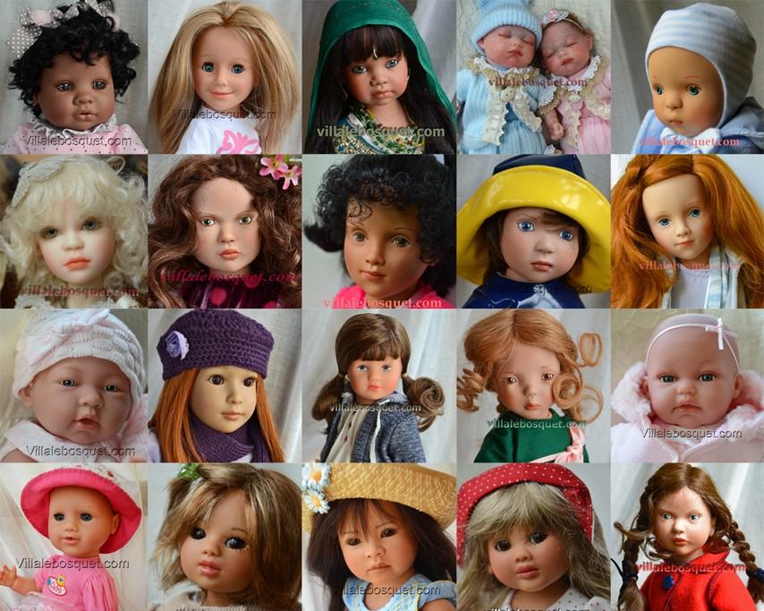 Superbes poupées à jouer et à collectionner en Offre Spéciale!