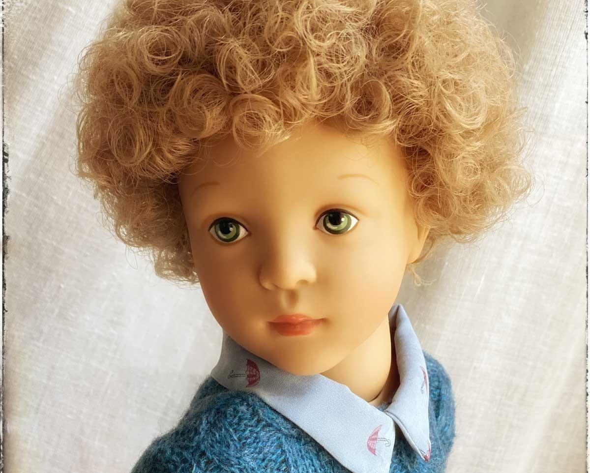 Les superbes poupées Minouches, Finouches, Starlettes et Bibichous de Sylvia Natterer pour Petitcollin, fabriquées en Europe.