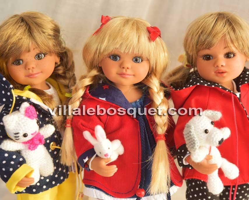Les poupées Little Stars, création et réalisation de Gabriele Müller en Allemagne!
