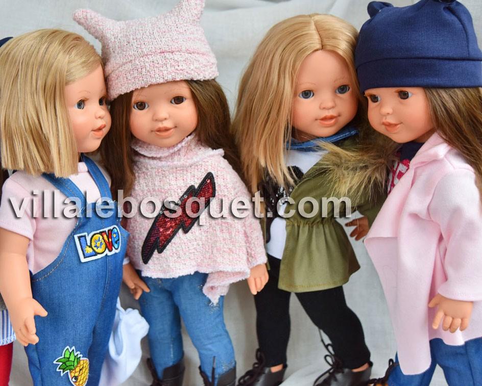 Les jolies poupées à jouer des Preppy Girls