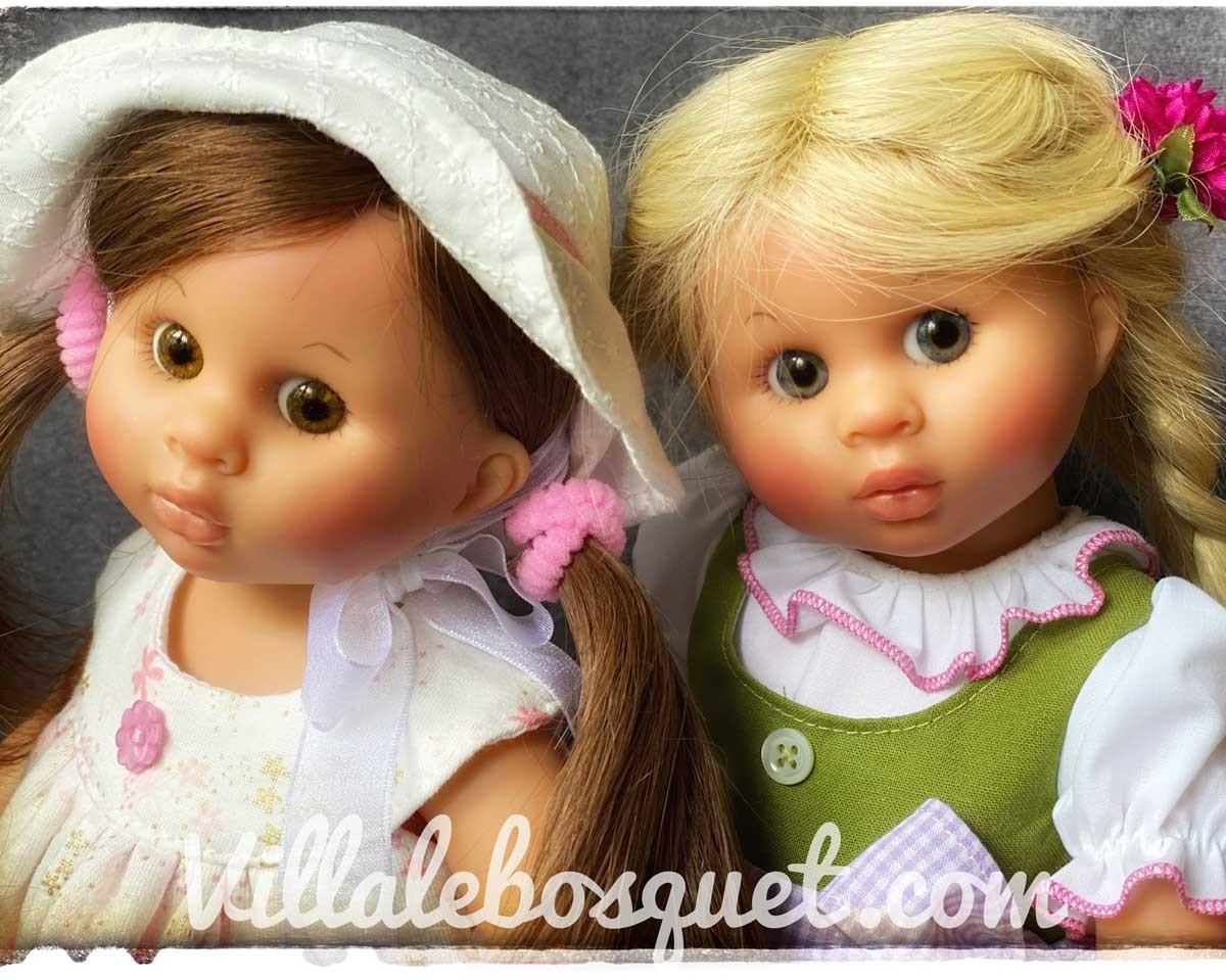 Un grand choix des poupées Müller Wichtel de Rosemarie Müller fabriquées par la célèbre maison de tradition Schildkröt en Allemagne!