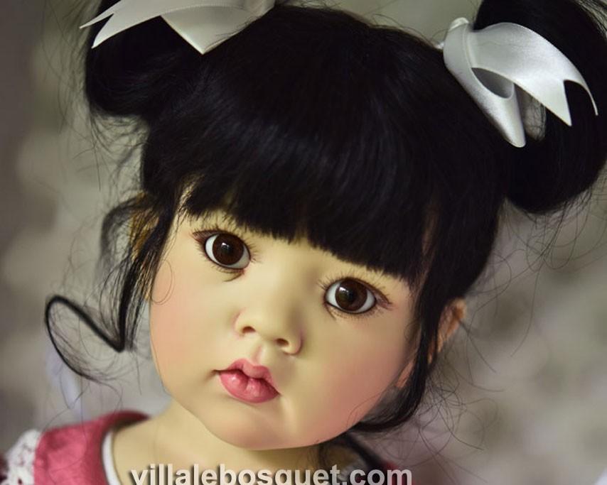 Les superbes poupées en résine de Hildegard Günzel sont sur notre site.