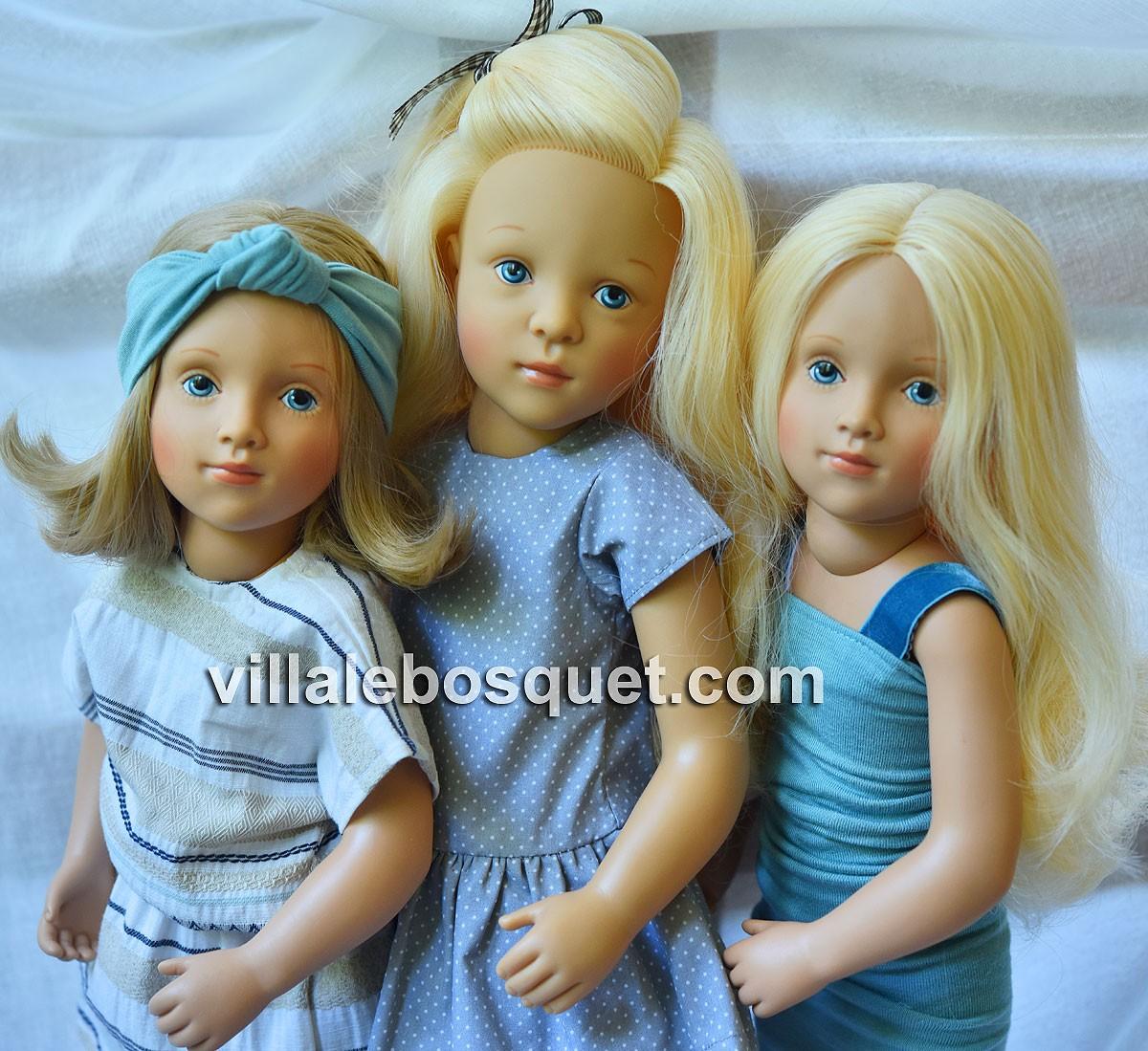 Les superbes poupées à jouer de Sylvia Natterer pour Petitcollin, fabriquées en Europe.
