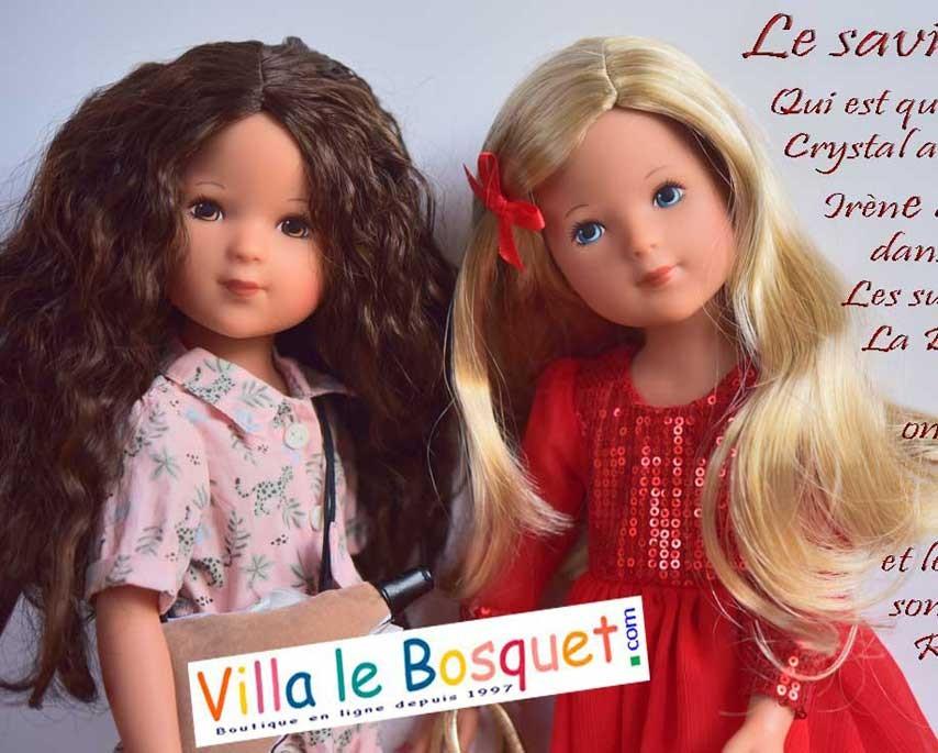 La Bella, les nouvelles poupées de la célèbre maison Käthe Kruse sont arrivées à la Villalebosquet.com!