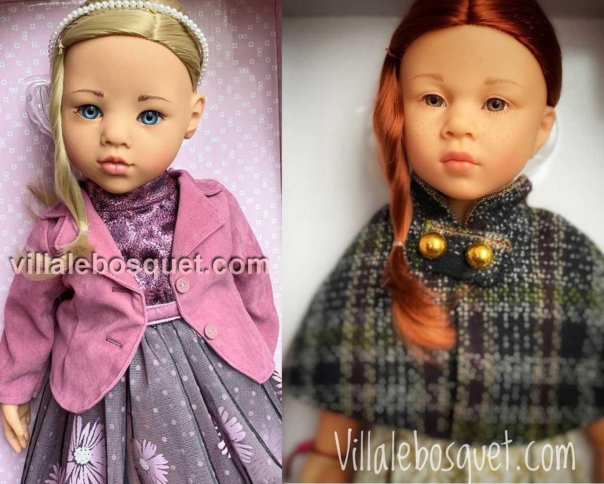 Les belles poupées Happy Kidz, Hannah et Precious Day de Götz ! Découvrez sur notre site les belles nouvelles poupées à jouer de Götz !