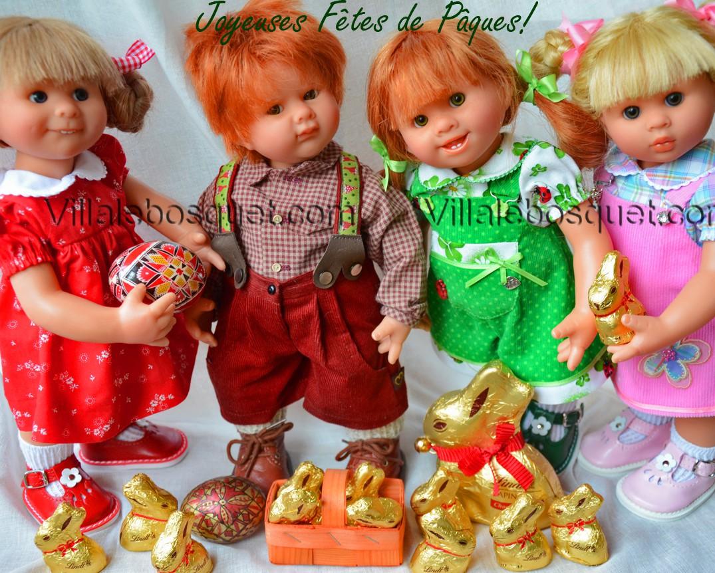 Les poupées de Rosemarie Müller sont adorables, belles et drôles. Chaque poupée est unique.