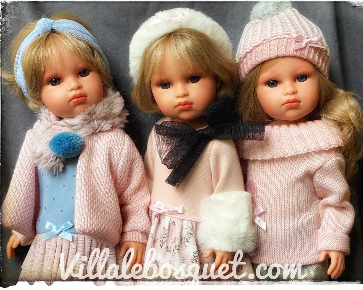 Les jolies poupées et poupons Llorens sont très réalistes, fabriqués en Espagne et très abordables!
