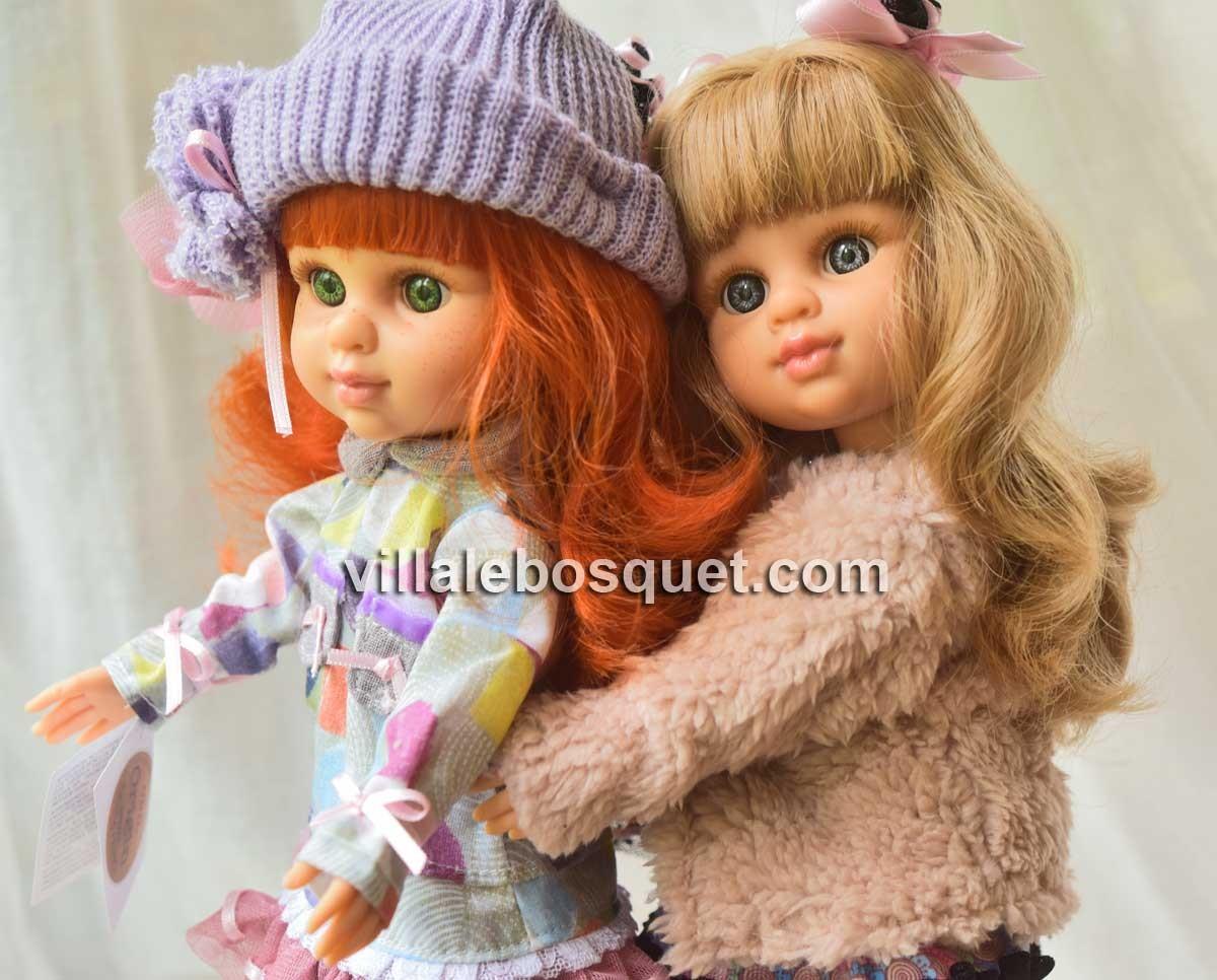 Les mignonnes poupées à jouer My Girls de Berjuan, fabriquées en Espagne!