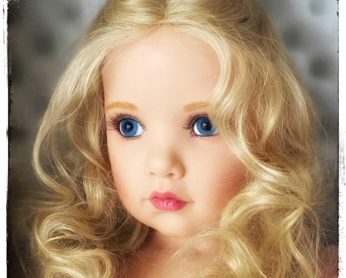 Les superbes poupées en résine de Hildegard Günzel sont sur notre site. Sa dernière collection!