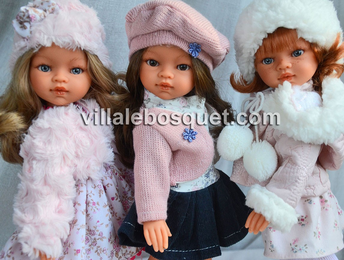 Les belles poupées et poupons à jouer Antonio Juan.