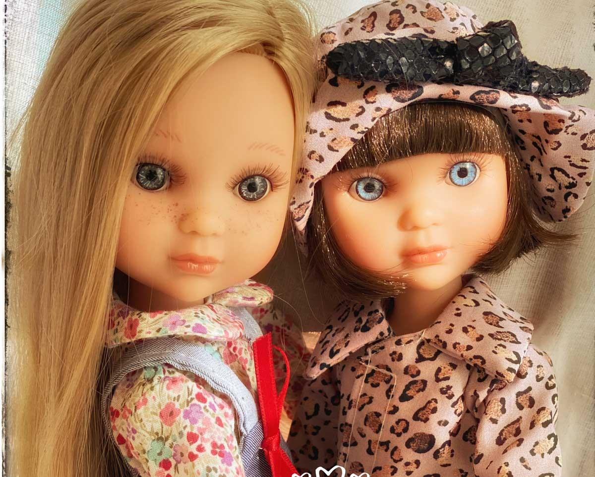 Les mignonnes poupées à jouer EVA de Berjuan, fabriquées en Espagne!