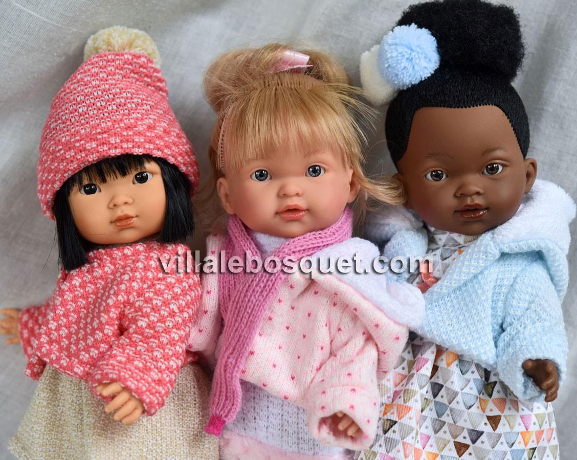 Les poupées et poupons Llorens sont des poupées de qualité fabriquées en Espagne, très joliment habillées et très abordables!