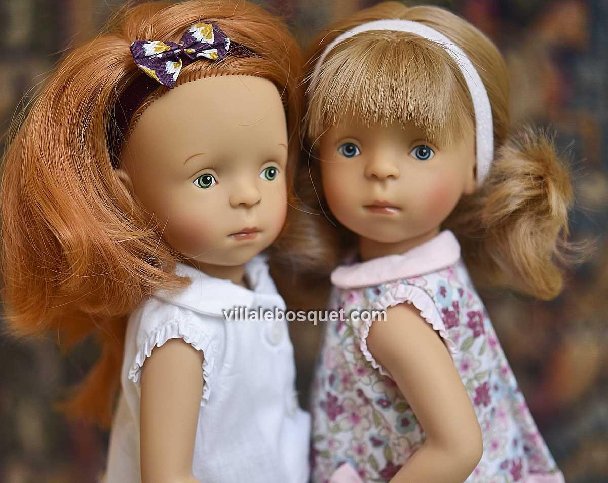 Les superbes poupées Bibichou de Sylvia Natterer pour Petitcollin, fabriquées en Europe.